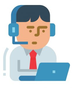 Call Center Agent Before Moving from the Philippines to Japan