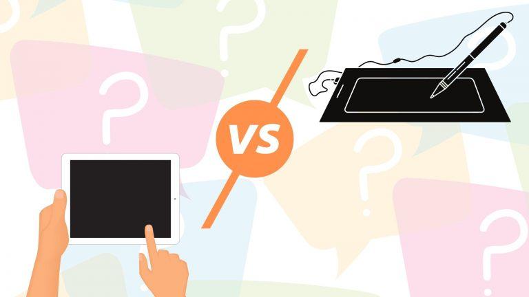 Wacom vs iPad