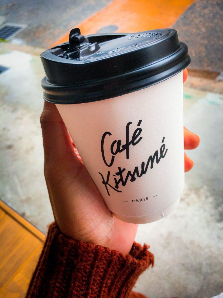 Coffee at Cafe Kitsune